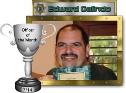 2014 - July - Officer of the Month - E-Galindo
