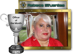 2014 - February - Officer of the Month - R-Sifuentes