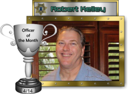 2014 - April - Officer of the Month - R-Kelley