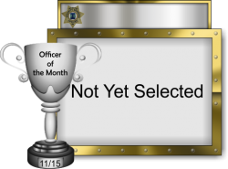 2015 - November - Officer of the Month - Not Yet Selected