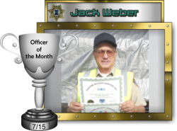 2015 - July - Officer of the Month - J-Weber