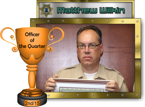 Industry Security Services, Inc. - Officer of the Quarter - 2nd Quarter 2015 - Matthew Wilkin