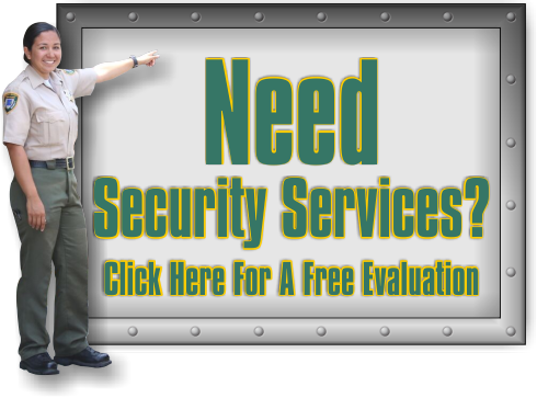 Do you need Security Services, get a free evaluation now!