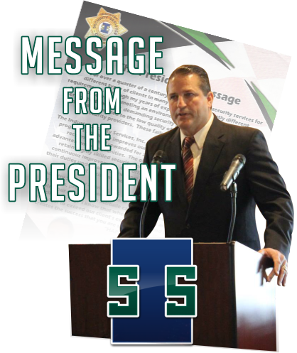 Message from the President of Industry Security Services